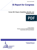 CRS Report Former NFL Players