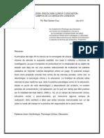 Deontología, Psicología Clínica y Pedagogía
