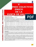 V Convenio Xunta Galicia Castellano Actualizado Junio 2017
