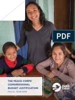 THE PEACE CORPS'  CONGRESSIONAL BUDGET JUSTIFICATION FISCAL YEAR 2019