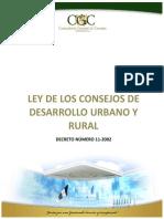 Ley de Los Consejos de Desarrollo Urbano y Rural