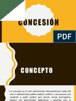 Concesión