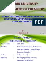 Paramethyl Phenol