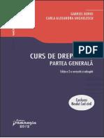 Drept Civil. Partea Generala. g.boroi-2012