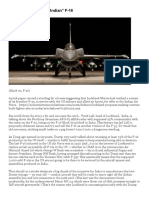 "Fairy Tales About the ""Indian"" F-16 _ Security Wise"