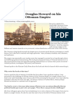 INTERVIEW_ Douglas Howard on His History of the Ottoman Empire
