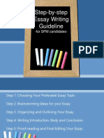 Essay Writing Guideline