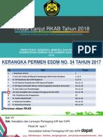 Paparan Rkab 2018 r6 310118 Final 2