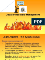 Disaster Recovery Management