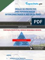 Desarrollo Proyectos SFV Capacitate Rev0