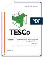 Directivas en Windows Server 2008