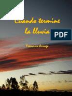 Francisco Arriaga - Cuando Termine La Lluvia