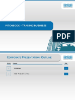 BSE Pitch Book