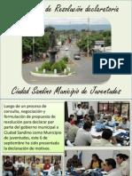 Ciudad Sandino Municipio de Juventudes