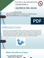 Diapositivas Quimica Del Agua