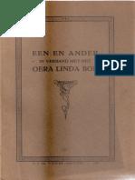 Een en ander in verband met het Oera Linda Boek