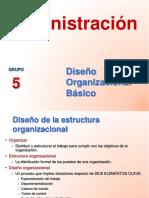 diapositivas diseño organizacional
