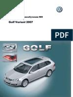 Golf Variant 2007 Rus