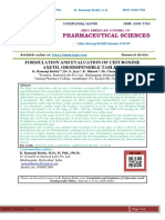 FORMULATION AND EVALUATION OF CEFUROXIME AXETIL ORODISPENSIBLE TABLETS