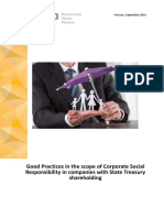Good Practices in the Scope of Corporate Social Responsibility in Companies