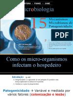 15 Mecanismo Microbiano Patogenicidade