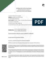 Certificado RATD040518MGTZVNA7