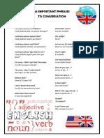 25 frases mais importantes em inglês