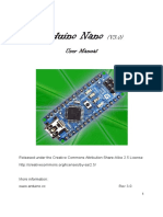 Nano User Manual