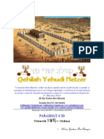 Parashat Tetzavéh # 20 Adul 6017