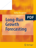 Bergheim -Long-Run Growth Forecasting-Springer (2008)