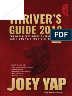 Thriver's Guide 2018 Joey Yap