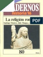 Revista Cuadernos Historia 16 - 1985 - Ch080 - La Religion Romana.pdf