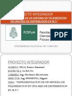 IMPLEMENTACION DE UN SISTEMA DE TELEMEDICION EN UNA RED DE DISTRIBUCION EN M.T.