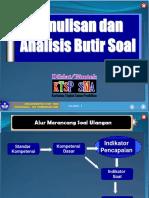 2.8 Penulisan & Analisis Soal