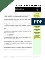 ENGLISH COURSE THROUGH THE BIBLE
