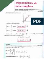 Forma Trigonometrica Complexo