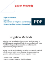Lecture Irrigation Methods