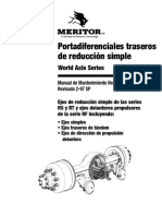 Diferencial Tracero de Reduccion Simple