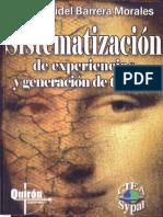 Sistematizacion de Experiencias Marcos Fidel Barrera
