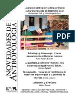 Novedades de antropología 83