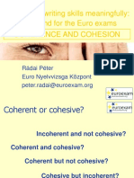 Coherence and Cohesion Ppt 20331