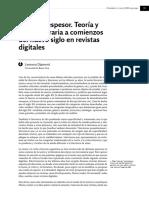 Critica Literaria a Comienzos Del Nuevo Siglo en Revistas Digitales