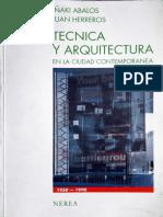 ABALOS _ HERREROS_Tecnica y arquitectura en la ciudad contemporanea.pdf