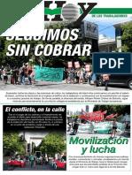 Diario Hoy de La Plata en lucha