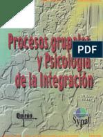 Procesos Grupales y Psicologia de La Integracion Barrera