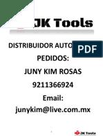 Catalogo JKTools Especializado 2018