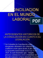 La Conciliacion en El Mundo Laboral Chile