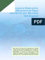 GUIA Equitativos Por Servicios Hidrologicos1