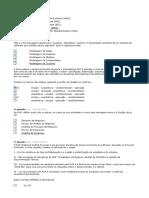 Modelagem de Sistemas (Cct0264)