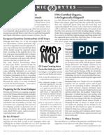 Issue 162 Organic Consumers Association